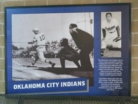 The Oklahoma City Indians were the city's minor league team for nearly five decades before folding when the Texas League reorganized after the 1957 season.