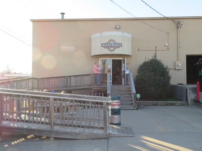Main entrance to the brewery.