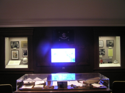 A replica of Robert Kennedy's Attorney General Office.