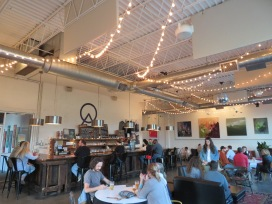 An overview of the tasting gallery.