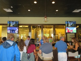 An overview of the bar.